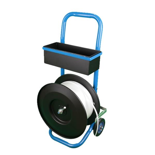 纤维塑钢带专用圆盘带盘车